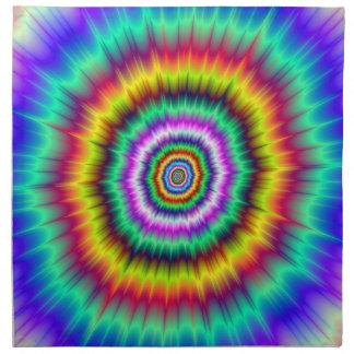 De Ontploffing van de kleur Servet