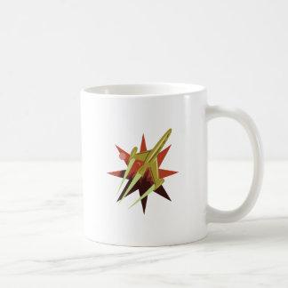 De Ontploffing van de raket weg Koffiemok