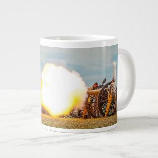 De Ontploffing van de snuit! Grote Koffiekop