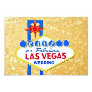 De Ontvangst Gouden Las Vegas van het Huwelijk Kaart