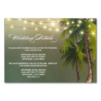 De Ontvangst van het Huwelijk van de Palm van het