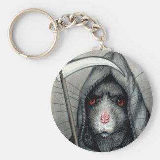 De onverbiddelijke Rat Keychain van de Maaimachine Sleutelhanger