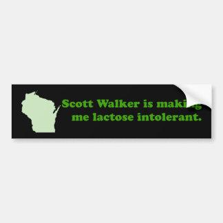 De onverdraagzaamheid van de Leurder van Scott Bumpersticker