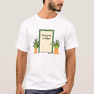 De Oogarts van de Cartoon van de optometrist T Shirt