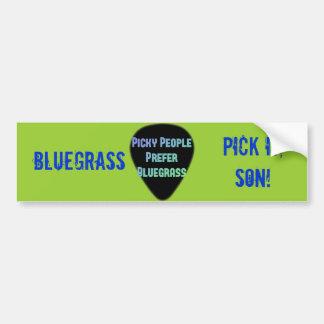 De Oogst van Bluegrass het Zoon! Bumpersticker