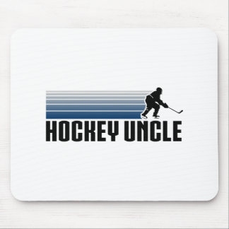 De Oom van het hockey Muismatten