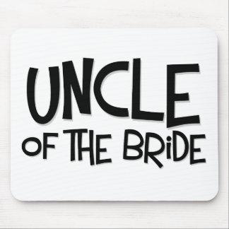 De Oom van Hipster van de Bruid Muismat