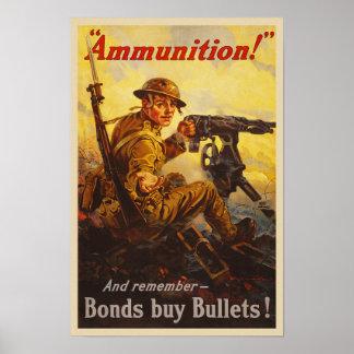 De Oorlog van de V.S. plakt de Propaganda van de Poster