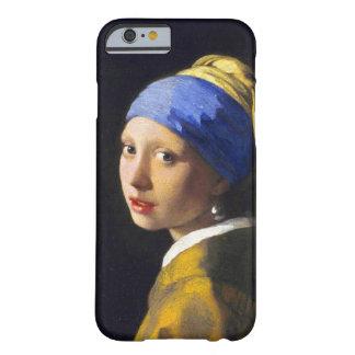 De Oorring ~ Vermeer van de Parel van het meisje w Barely There iPhone 6 Hoesje