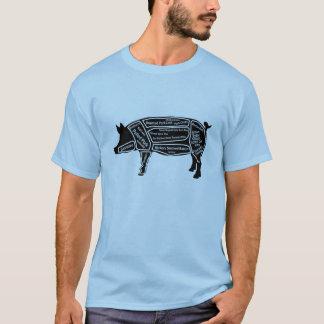 De Oorspronkelijke Kaart van het varken T Shirt