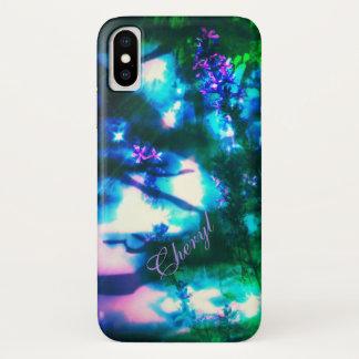 De Oosterse Gothic van Wildflowers iPhone X Hoesje