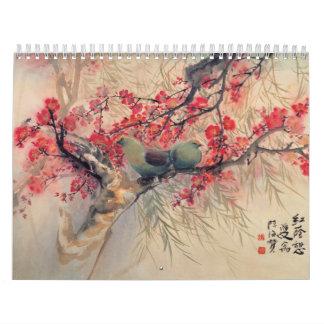 De oosterse HoofdKalender van het Plant van de Kalender