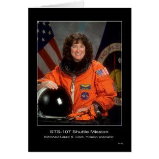 De Opdracht STS 107 van de pendel Kaart