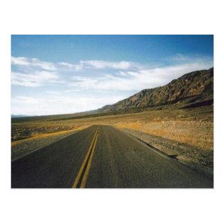 De open Vallei van de Dood van de Weg Briefkaart