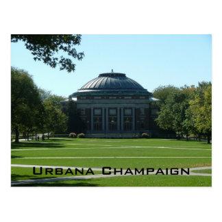 De Open vlakte van Urbana Briefkaart