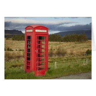 De openbare Doos van de Telefoon, Ellishadder, Briefkaarten 0