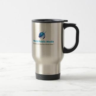 De Openbare Media CoffeeMug 1 van de wereld Reisbeker