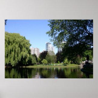 De Openbare Tuin van Boston Poster