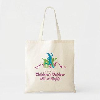 De OpenluchtRekening van de Kinderen van Nevada Draagtas