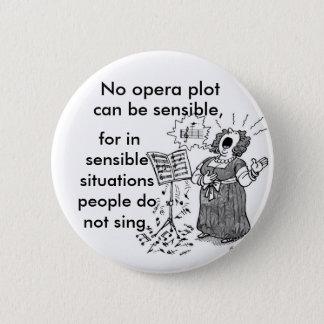 De opera is Forrizzles Ronde Button 5,7 Cm