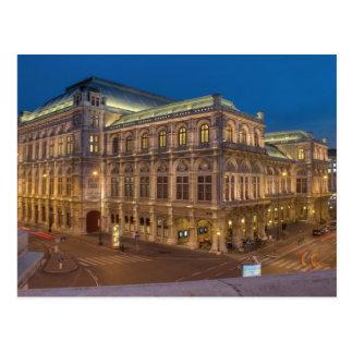 De Opera van de Staat van Wenen, Oostenrijk Briefkaart