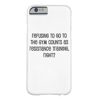 De Opleiding van de weerstand Barely There iPhone 6 Hoesje