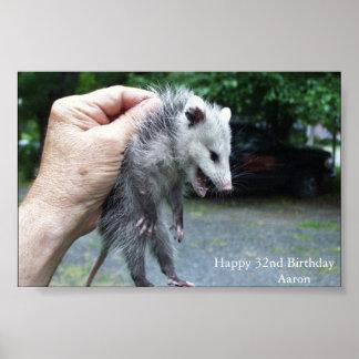 De Opossum van Crazzzy Poster