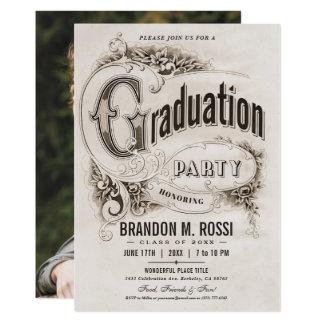 De opperste Vintage Uitnodigingen van de Partij