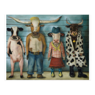 De Opstelling van het vee Briefkaart