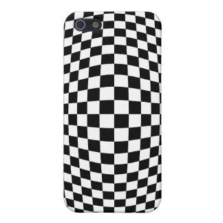 De optische illusie van het schaakbord iPhone 5 hoesje