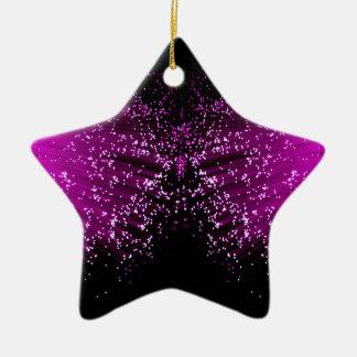 De optische samenvatting van de vezel keramisch ster ornament