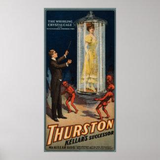 De Opvolger van Kellar van Thurston - Vrouw in Poster