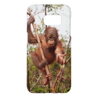 De Orangoetan van de metselaar in Borneo OFI Samsung Galaxy S7 Hoesje