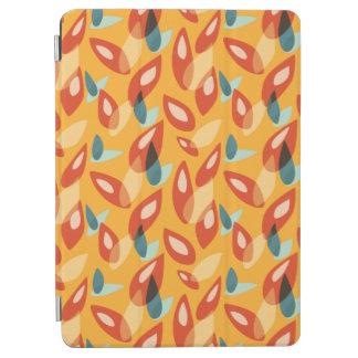 De oranje Blauwe Gele Abstracte Herfst verlaat iPad Air Cover