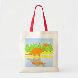 De oranje Bomen van de Dinosaurus & het Bolsa van  Draagtas