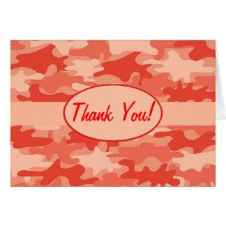 De oranje Camouflage Camo dankt u Douane Kaart
