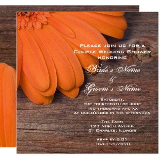 De oranje Douche van het Huwelijk van Daisy en van Kaart