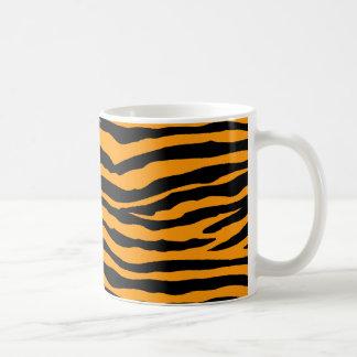 De oranje en Zwarte Strepen van de Tijger Koffiemok