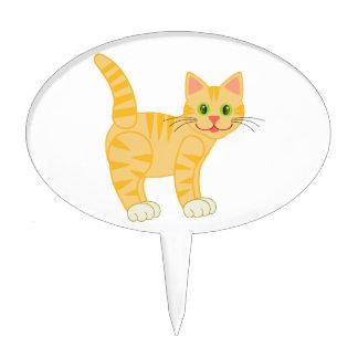 De oranje Kat van de Gestreepte kat van de Tijger Taart Prikkers