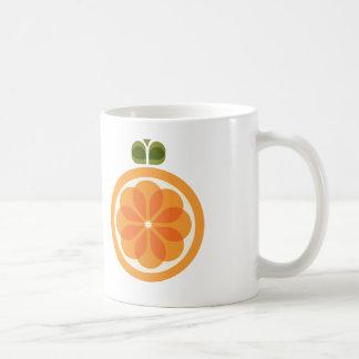 De oranje Kop van de Koffie