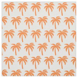 De oranje Stof van de Palm