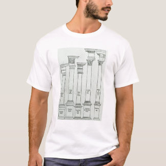 De orden van Architectuur T Shirt