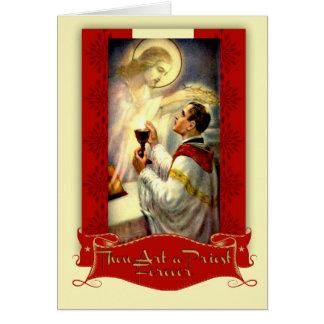 De Ordening Jesus van de Priester van het Jubileum Kaart