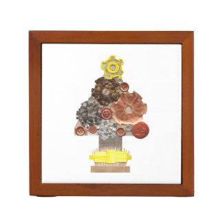 De Organisator van het Bureau van de Kerstboom van Pennenhouder