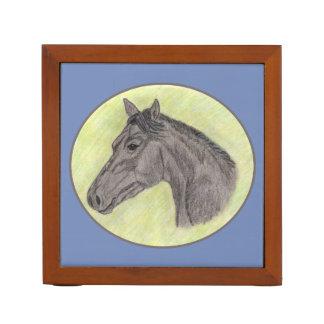 De Organisator van het Bureau van het paard Pennenhouder
