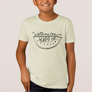 De Organische Kinder T-shirt van de watermeloen