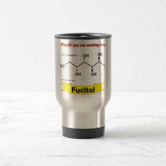 De Organische molecule van Fucitol Reisbeker