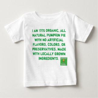 De organische Pastei van de Pompoen Baby T Shirts