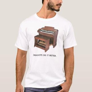 De organisten het verbeteren t shirt