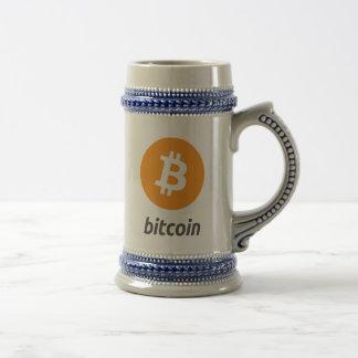 De originele Stenen bierkroes van Cryptocurrency Bierpul